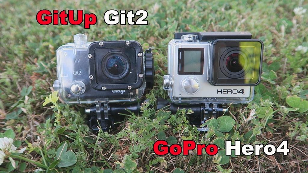 GitUp Git 2 und GoPro Hero4