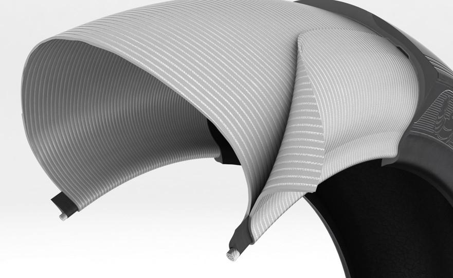 Die neue patentierte Michelin ACT+ Karkasse