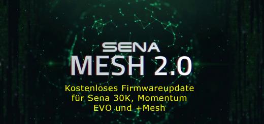 Kostenloses Firmwareupdate für Sena 30K, Momentum EVO und +Mesh